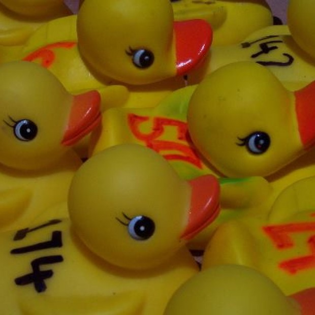 July 4th RUBBER DUCK RACE!