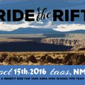 RIDE THE RIFT Community Mountain Bike Event October 15, 2017!