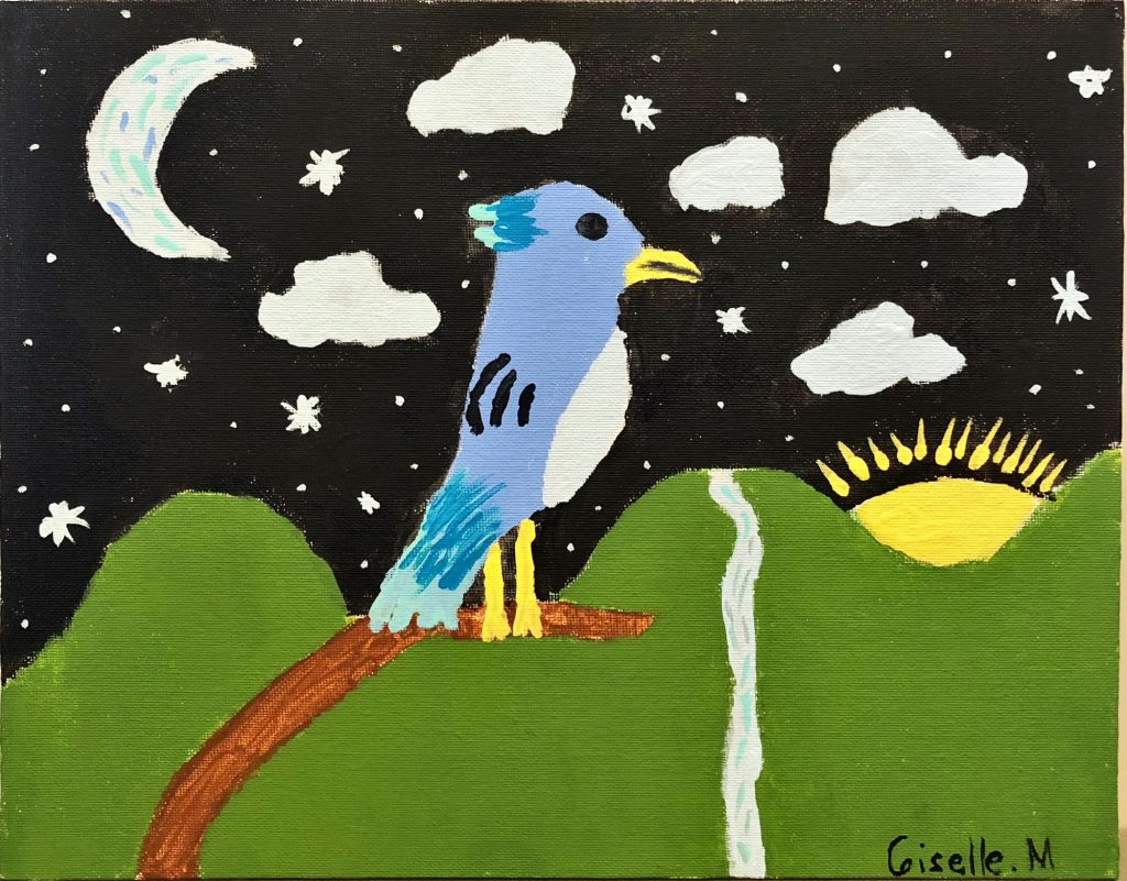 """Giselle M """"Summer Nights"""" age 10"""