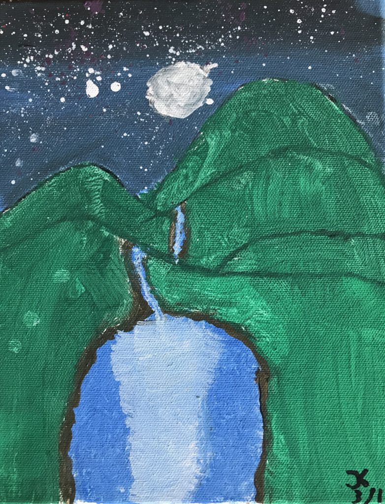 "Joaquin K ""The Waterfall"" Age 12"